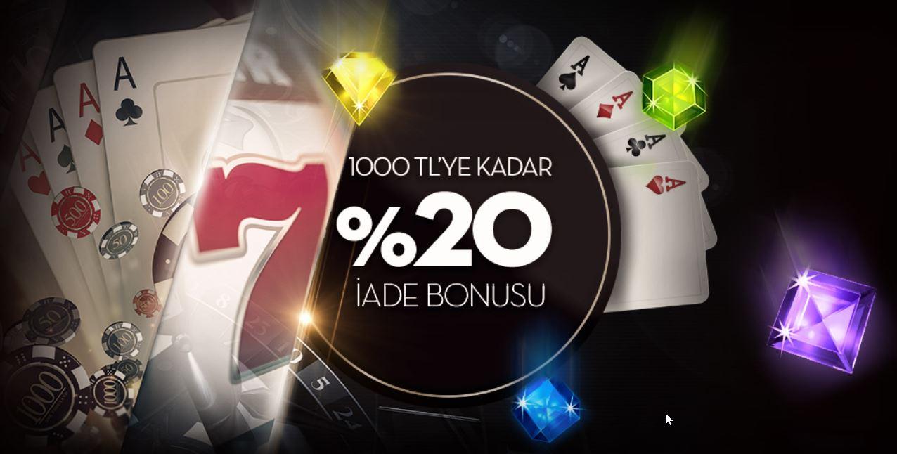 1000 TL İade Casino Bonusu Bets10'da